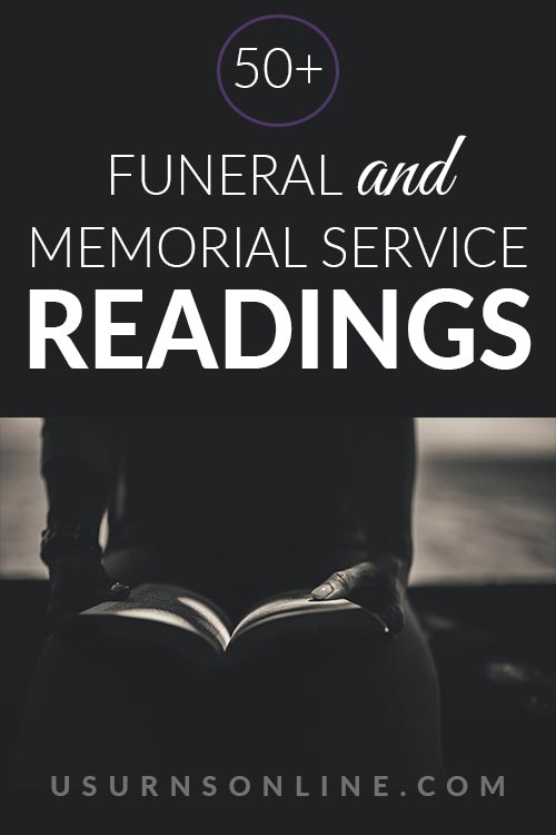 50+ Funeral Readings