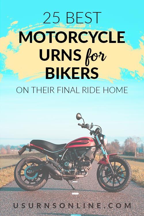 25 Best Motorcycle Urns for Bikers