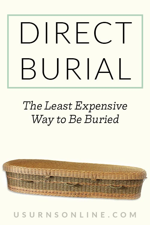 Least Expensive Way to Be Buried
