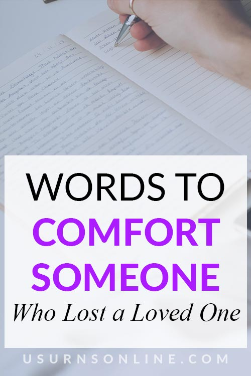 What to Say to Comfort Someone
