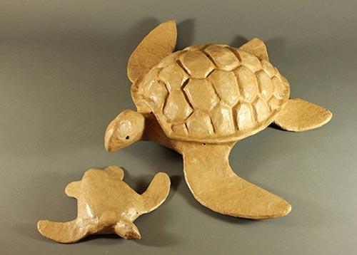 Biodegradable Paper Turtle Urn
