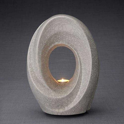 Passage Sculpture Tealight Urn