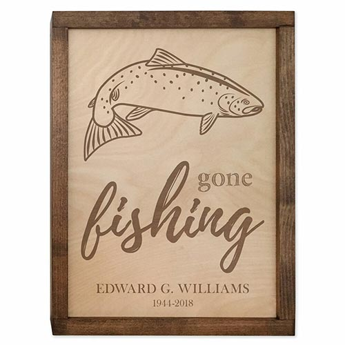 Personalized Wall Mounted Plaque Urn