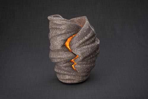 Wrapped Candle Light Urn
