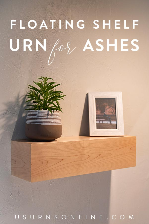 Memorial Shelf Ideas for Cremated Ashes