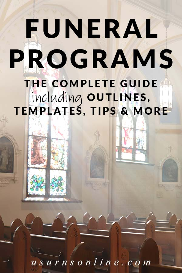 Guide to Funeral Programs