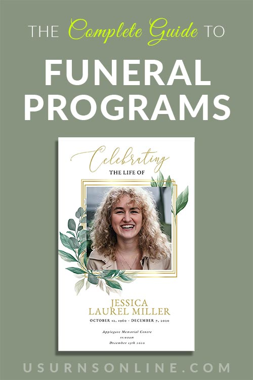 Complete Funeral Program Guide