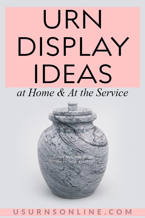 Best Urn Display Ideas