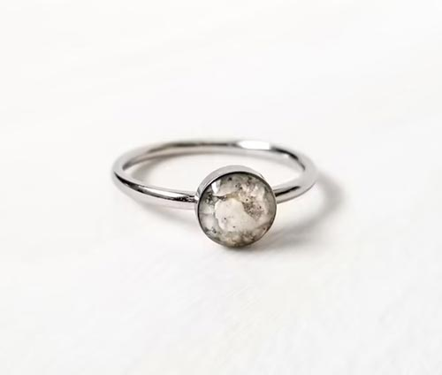 Dainty Cremation Ring