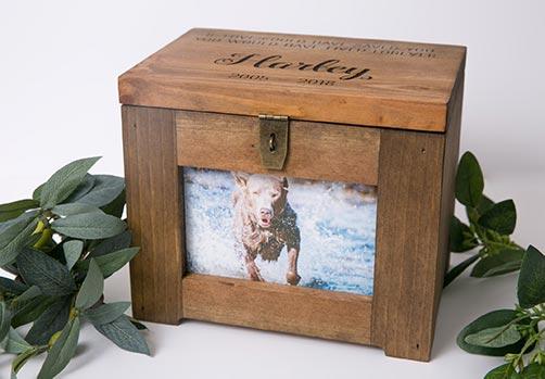 Personalized Memory Box Urn