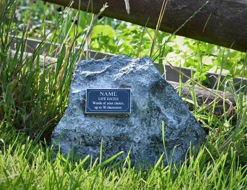 Small Rock Garden Urn