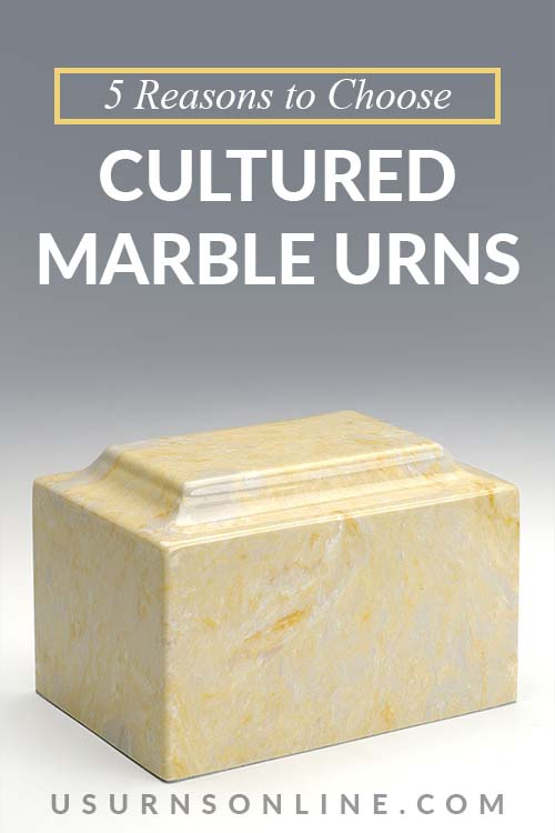 Cultured Marble Urns vs Natural Marble Urns