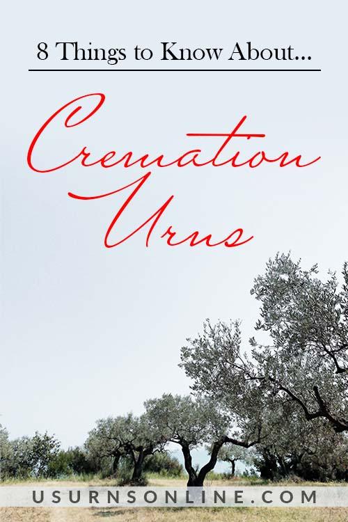 Cremation Urns - Pin It Image