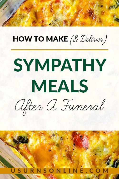 How to prepare sympathy meals