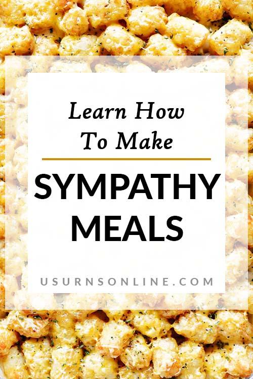Best Sympathy Meals - Pin It Image