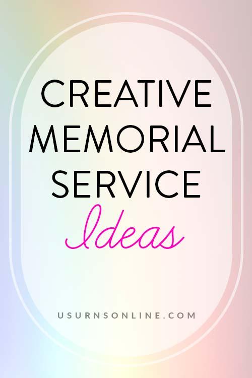 Memorial Service Ideas: Pin It Image