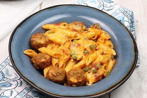 Easy Pasta Skillet Meatballs