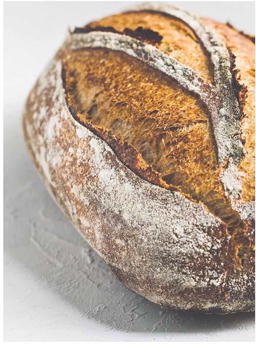 Rustic Rye Sourdough Bread